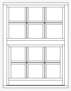 PGT Grids Standard Karoly Windows & Doors Clearwater Palm Harbor Largo Tampa St Petersburg