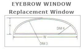 Eyebrow Karoly Windows and Doors Replacement Impact Clearwater St Pete Beach Largo Palm Harbor