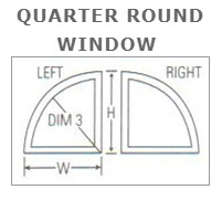 Quarter Round Karoly Windows and Doors Replacement Impact Clearwater St Pete Beach Largo Palm Harbor
