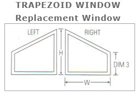 Trapezoid Karoly Windows and Doors Replacement Impact Clearwater St Pete Beach Largo Palm Harbor