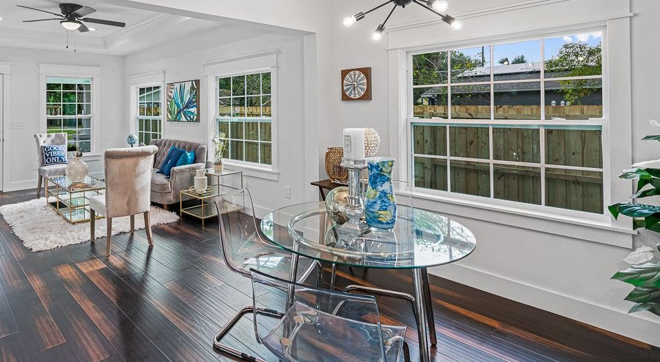 Colonial Grids Double Hung Vinyl Replacement Hurricane Impact Windows St Petersburg Clearwater Largo Palm Harbor