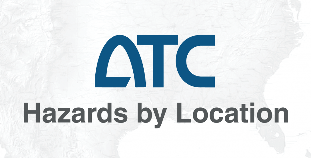 ATC Hazards By Location
