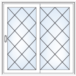 Simonton Inovo Grid Pattern Diamond Karoly Windows and Doors Clearwater Largo St Petersburg Tampa Palm Harbor
