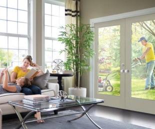 Exterior Doors with Sound Absorption Warm-Edge Flexible Spacers Masonite Front Doors Karoly Windows and Doors