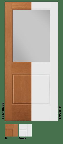 Masonite 2021 VistaGrande Flush-Glazed Fiberglass Exterior Door Karoly Windows & Doors
